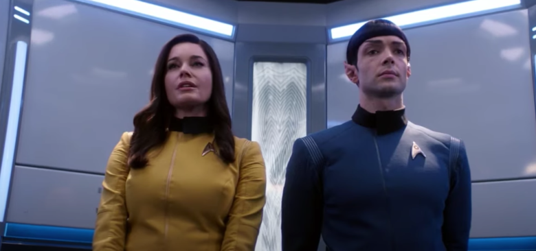 Spock and Number One