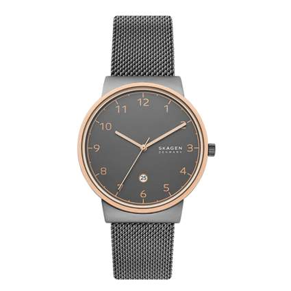 skagen stainless steel watch