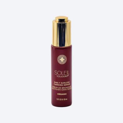 Soleil Toujours Organic Daily Sunless Tanning Serum for face