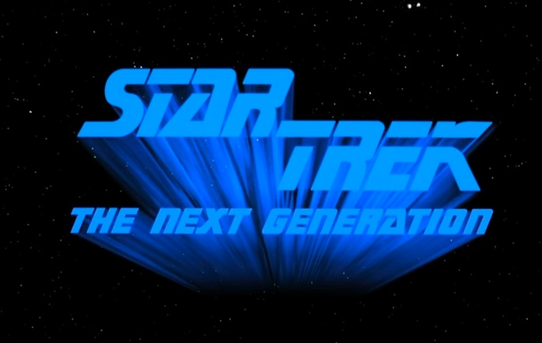 """Intro sequence for """"Star Trek: The Next Generation"""""""