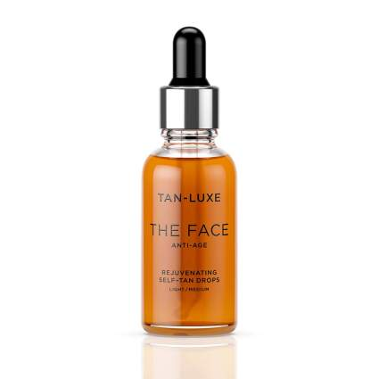 Tan luxe self tanners for face