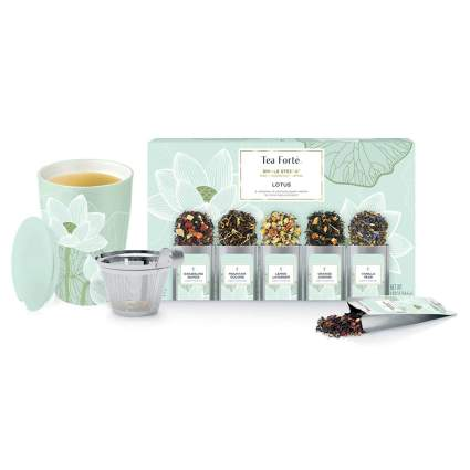 tea infuser cup and gift set