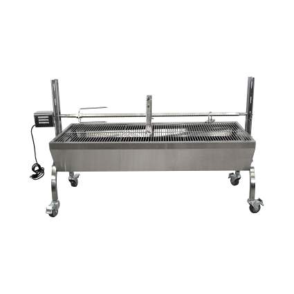 Titan Great Outdoors 13W Stainless Steel Rotisserie Grill