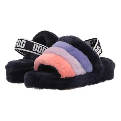 UGG fluffly slipper slides