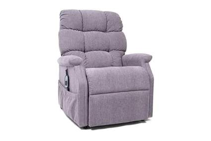 gray power lift recliner