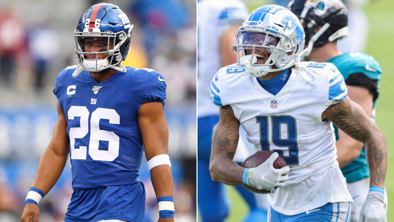 Saquon Barkley badly wants Kenny Golladay to sign with Giants.