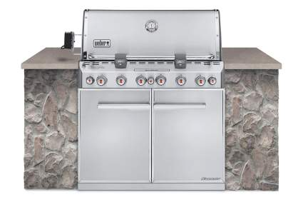 Weber Built In Grill