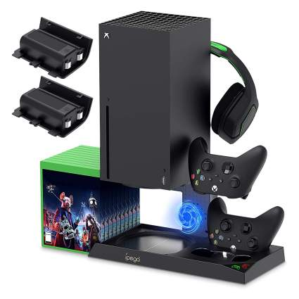 Xbox Series X Vertical Stand with Cooling Fan