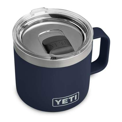 YETI vacuum insulated mug