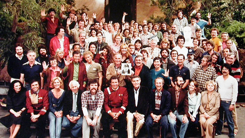 Most of the cast and crew of Wrath of Khan