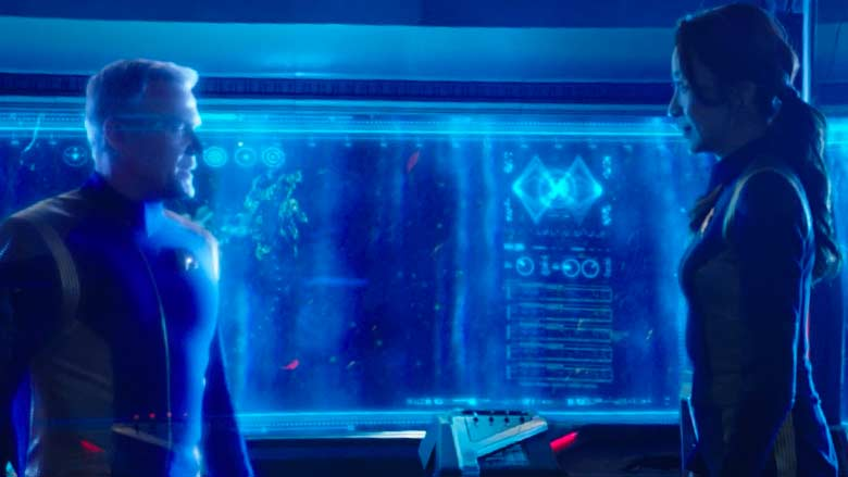 Holo-communication as seen on Star Trek: Discovery