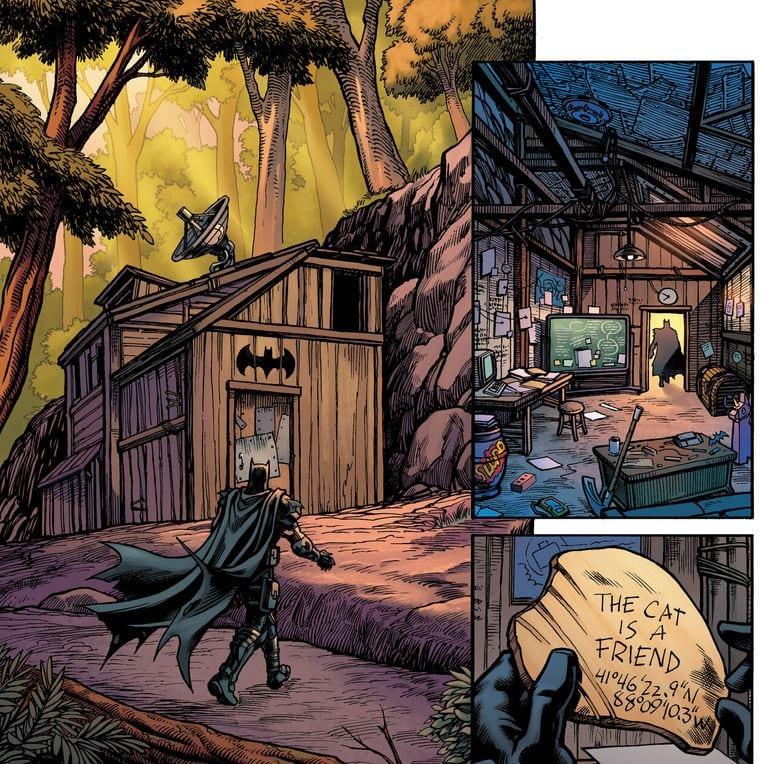 fortnite batman bat cave season 6