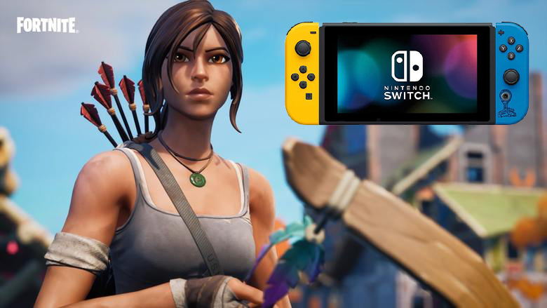 Nintendo Switch Graphics Fortnite Fortnite Nintendo Switch Players Get Huge Upgrade Heavy Com