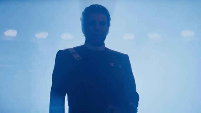 William Shatner as Kirk in The Wrath of Khan