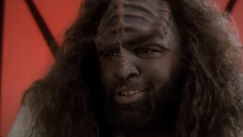 Ron Taylor as the Klingon Chef