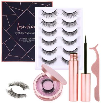 Lanvier best magnetic lashes