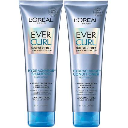 Loreal Evercurl best shampoo for curly hair