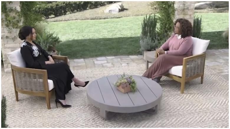 meghan markle oprah video