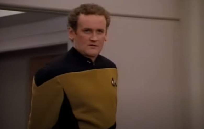 "Colm Meaney as Chief Miles O'Brien on ""Star Trek: The Next Generation"""