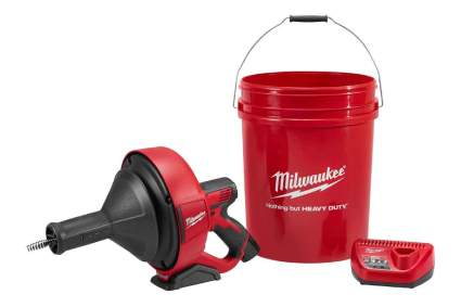 Milwaukee M12 12V Cordless Auger Snake Drain Cleaning Tool