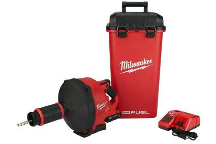 Milwaukee M18 Fuel Drain Snake with Cable Drive