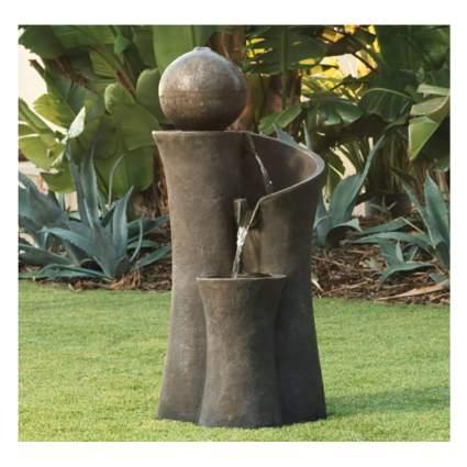 outdoor zen water fountain