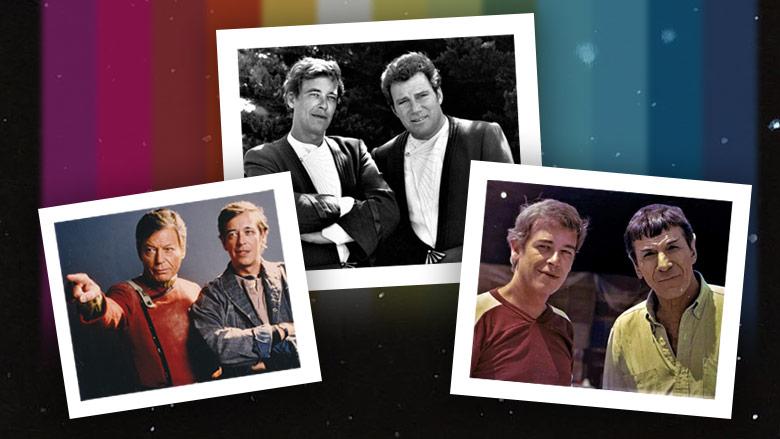 Phil Weyland and the stars of Star Trek