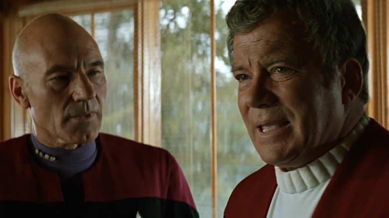Picard and Kirk