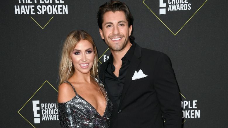 Kaitlyn Bristowe and Jason Tartick on the red carpet.