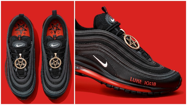 Nike 'Satan Shoes' With Drops of Blood Spark Outrage | Heavy.com