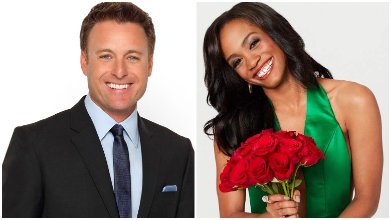 Chris Harrison and Rachel Lindsay.