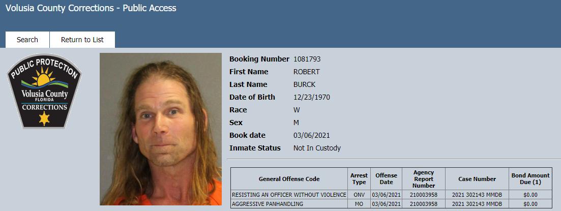 naked cowboy arrested