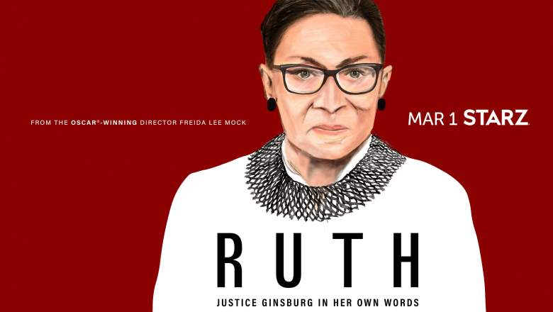 Key art for 'Ruth: Justice Ginsburg In Her Own Words'