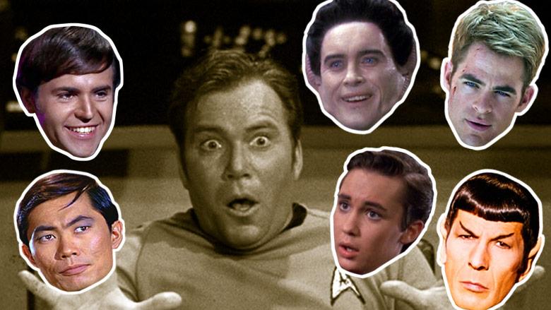 William Shatner and his Star Trek voice impersonators.