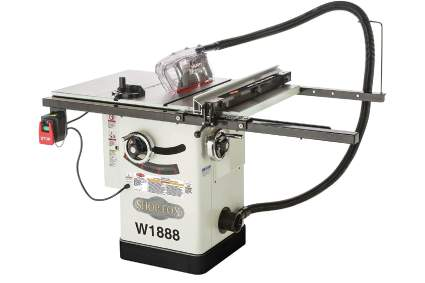 Shop Fox W1888 10-Inch Table Saw