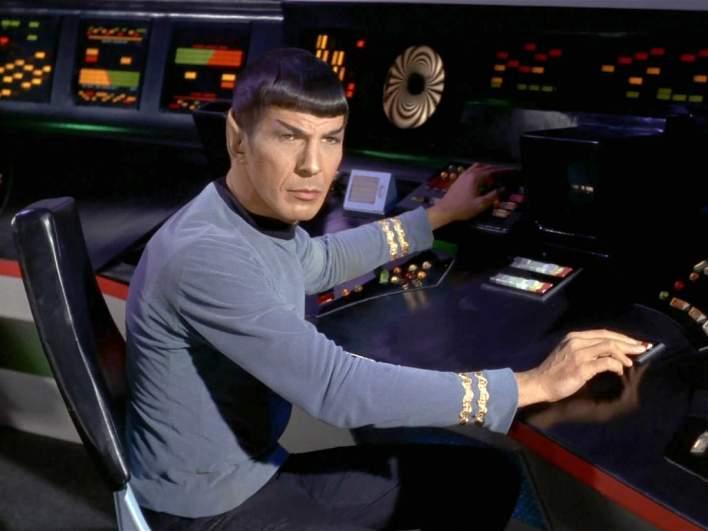 Mr. Spock in an episode of Star Trek by D.C. Fontana