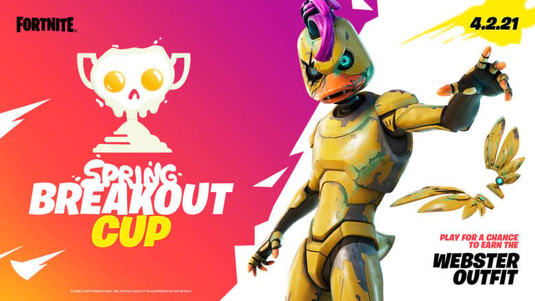 spring breakout cup fortnite