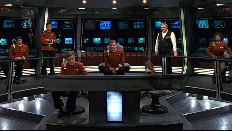 The bridge in The Undiscovered Country