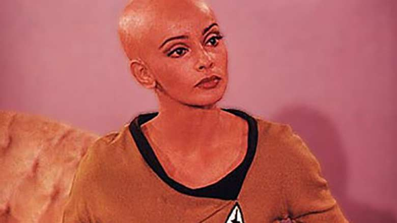Persis Khambatta in Star Trek II test footage