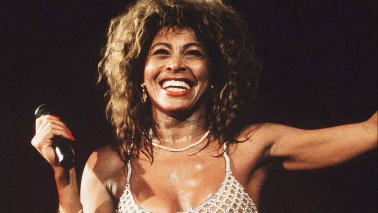 LONDON - 1990: Singer Tina Turner performs live on stage at Wembley Stadium.