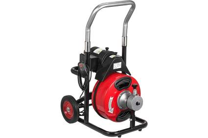 Vevor 100 Foot by 3/8-Inch Electric Drain Cleaning Machine