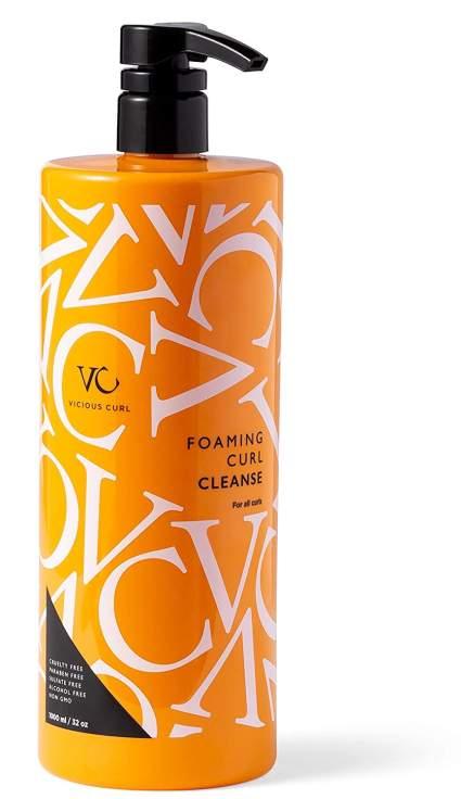 vicious curl clarifying shampoo for curly hair