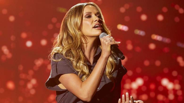 Carly Pearce rehearses for the 56TH ACADEMY OF COUNTRY MUSIC AWARDS
