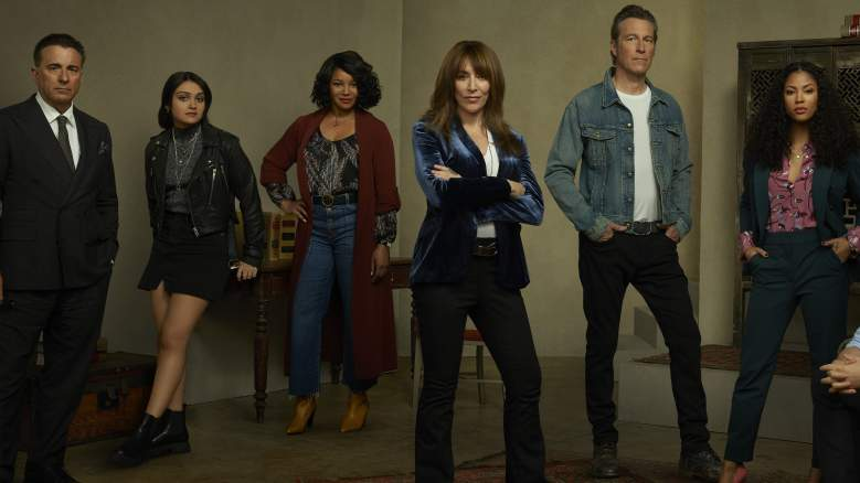 "REBEL - ABC's ""Rebel"" stars Andy Garcia as Cruz, Ariela Barer as Ziggie, Tamala Jones as Lana, Katey Sagal as Annie ""Rebel"" Bello, John Corbett as Grady Bello, and Lex Scott Davis as Cass."