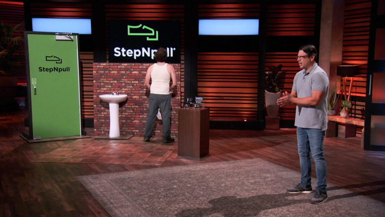 StepNPull Shark Tank