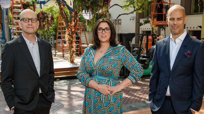 93rd Oscars producers Jesse Collins, Stacey Sher and Steven Soderbergh