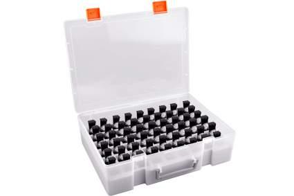 Plastic nail polish case storage