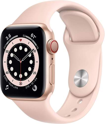 Apple watch series 6 gold aluminum self care gifts for mom