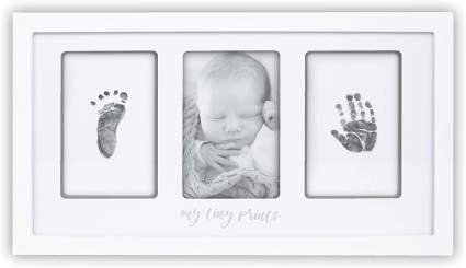 Baby hand and foot print kit self care gifts for mom