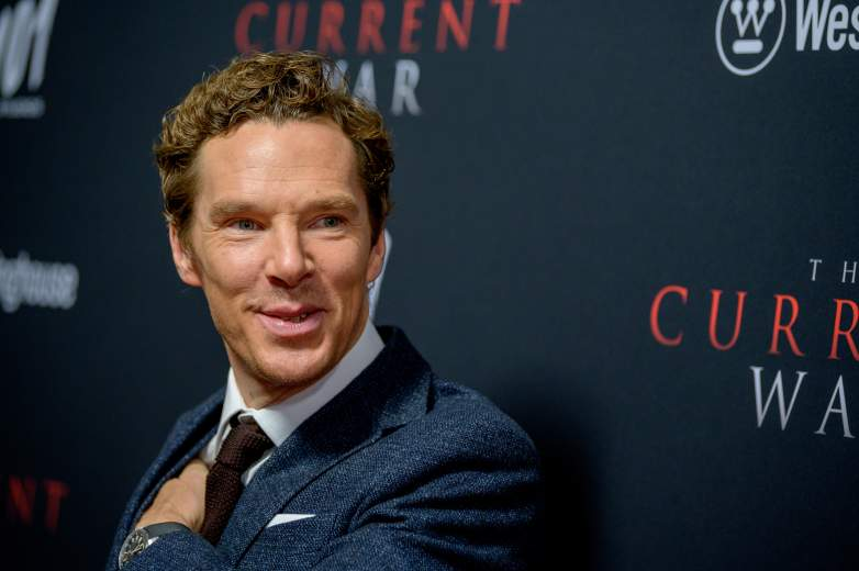 """Benedict Cumberbatch attends """"The Current War"""" New York Premiere at AMC Lincoln Square Theater on October 21, 2019 in New York City."""